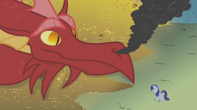 File:Dragon looking at Rarity S1E07.png
