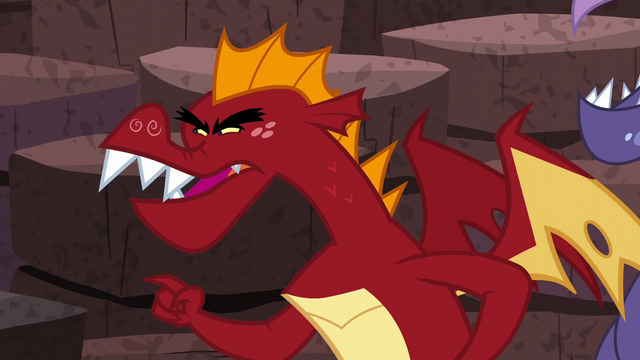 "File:Garble ""You even sneeze like a pony"" S6E5.png"