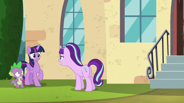 "File:Starlight ""Because of his cutie mark!"" S5E26.png"
