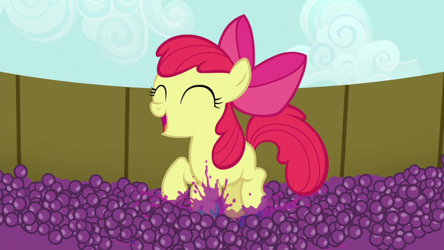 File:Apple Bloom happily squishing grapes S5E17.png