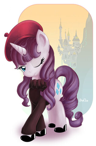 File:FANMADE Rarity is famous.jpg