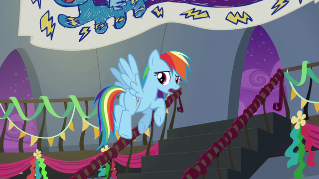 File:Rainbow Dash flying upstairs S6E7.png