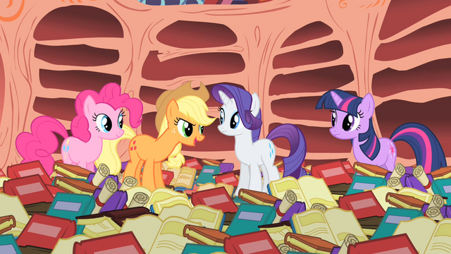 File:Applejack thinks Rainbow Dash is confident S1E16.png