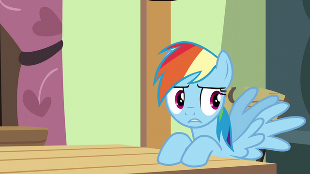 "File:Rainbow Dash ""sprinkle... something"" S6E11.png"