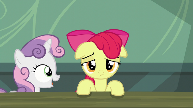 "File:Sweetie Belle ""So what do you say?"" S5E17.png"