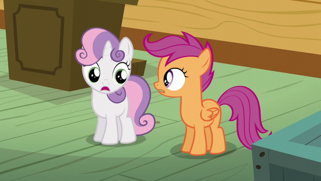 "File:Sweetie Belle ""we're still asleep?"" S5E4.png"