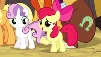 Apple Bloom defending Trouble Shoes S5E6