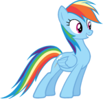 Canterlot Castle Rainbow Dash 5