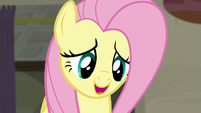 Fluttershy asking the raccoons for a favor S6E9