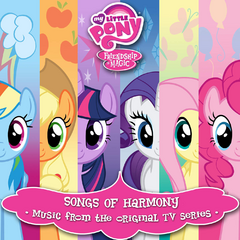MLP Soundtrack Album Cover 3