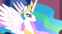 Princess Celestia smiling S2E02