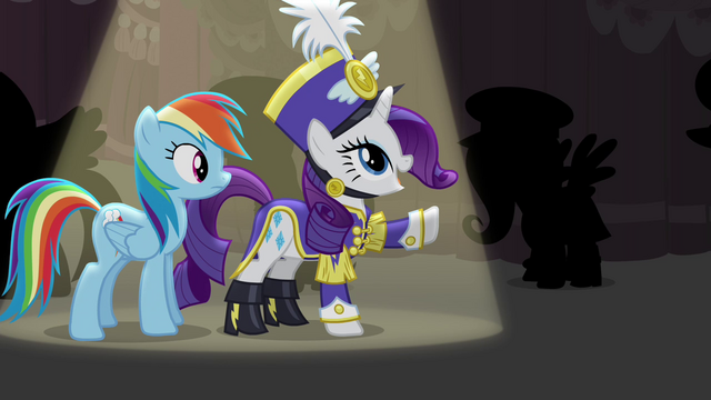 "File:Rarity ""thanks to the vision of Flair d'Mare"" S4E21.png"