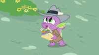 Spike 'Will Rainbow Dash make it on time' S2E08