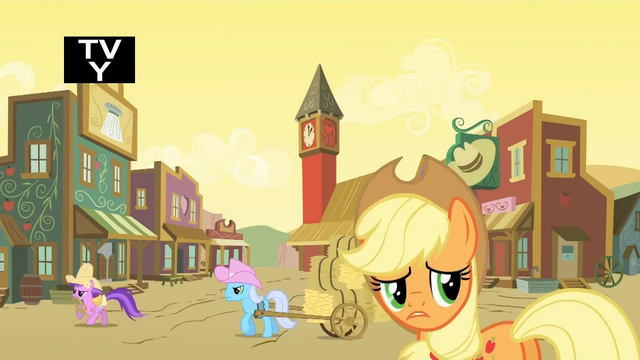 File:Applejack concerned about the ruckus S1E21.png