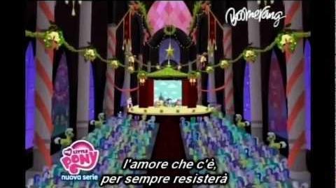 "My Little Pony FiM ""The Heart Carol"" in Italian (With Lyrics)"