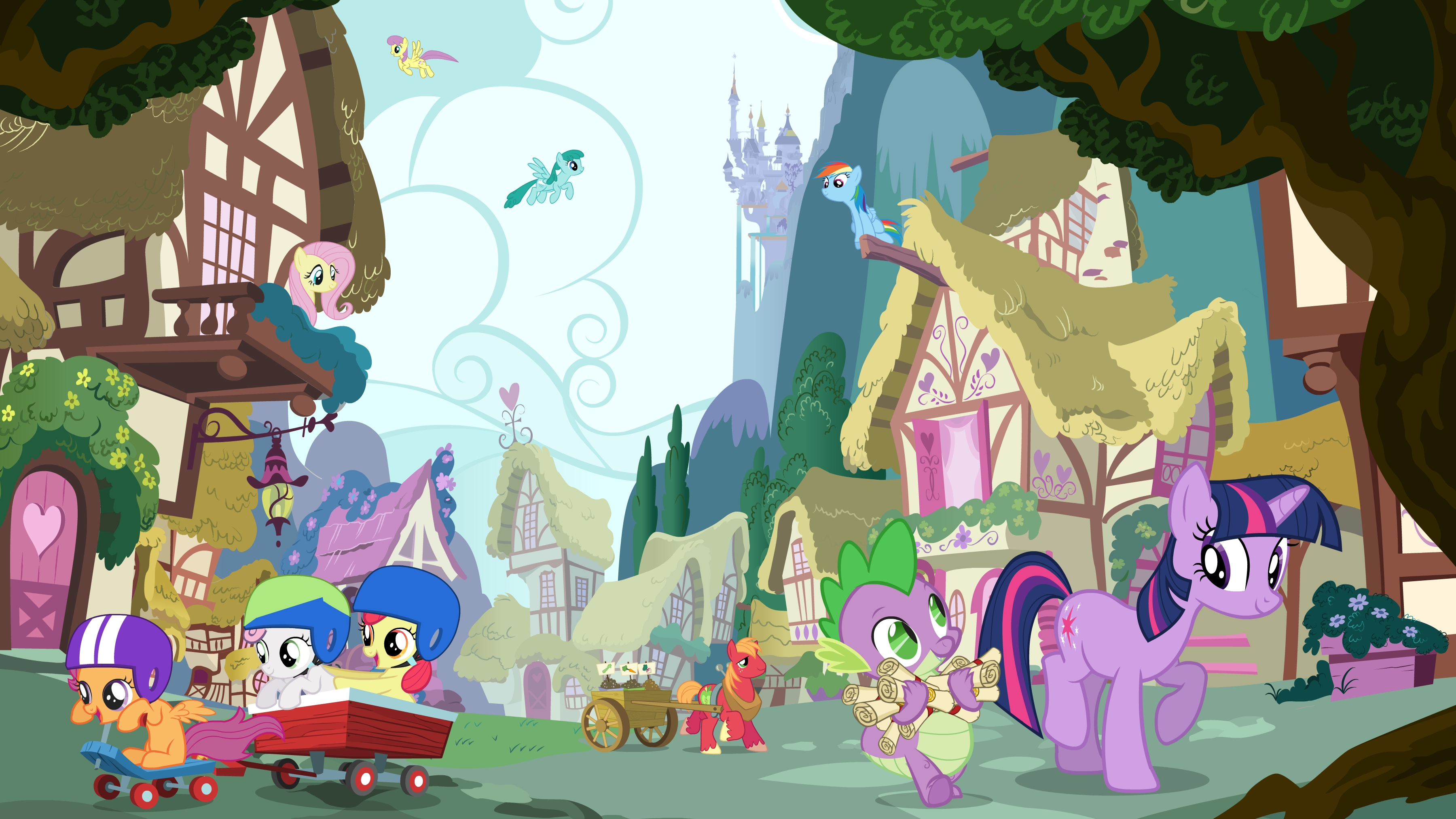 My little pony friendship is magic coloring pages best night ever - My Little Pony Spike