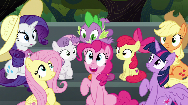 File:Pinkie Pie pops up from under Spike S6E7.png