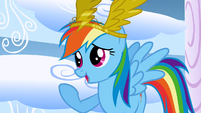 Rainbow Dash forgiving the bullies S1E16