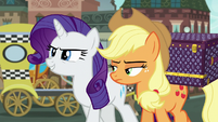 "Rarity confident ""the search continues"" S5E16"