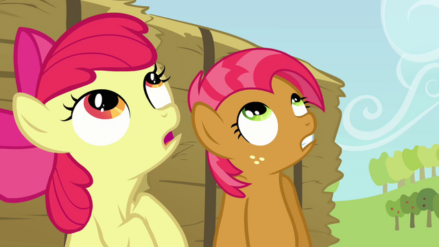 File:Babs and Apple Bloom looking up S3E08.png