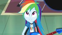 "Rainbow Dash singing ""the future's looking up"" EG2"
