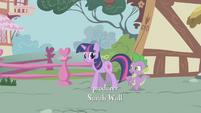 Spike amazed by Twilight's magic S1E06