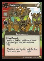 Timberwolf demo card MLP CCG