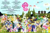 MLP Season 2 DVD inside Poster