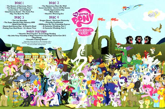 File:MLP Season 2 DVD inside Poster.png