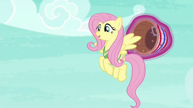 "File:Fluttershy ""hello there, Mr. Ball"" S6E18.png"