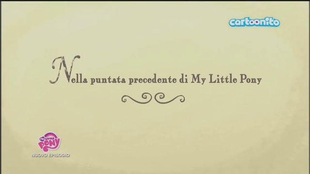 File:Italian 'Previously on My Little Pony' - S5E26.png