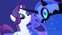 Nightmare Moon hears Twilight speak out S1E01