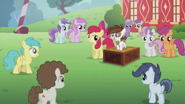 File:Students gathering to hear Pipsqueak's speech S5E18.png
