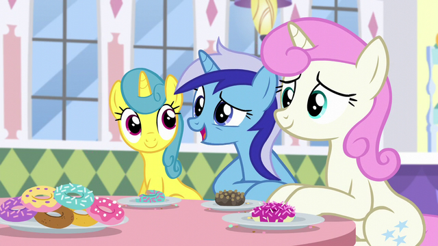 "File:Minuette ""You remember our old friend, Lyra, right?"" S5E12.png"