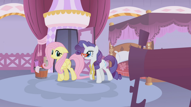 File:Rarity walks alongside Fluttershy S1E14.png