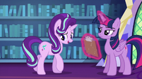 Starlight Glimmer backs away from Twilight S6E21