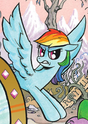 Comic issue 19 Alternate Rainbow Dash