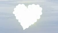 Heart-shaped cloud S5E5
