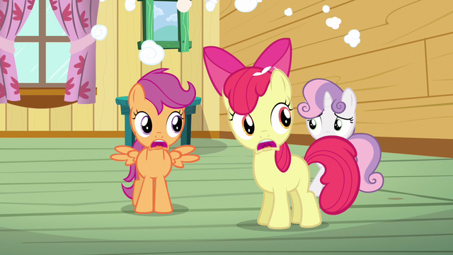 File:Scootaloo & Apple Bloom NO!! S3E4.png