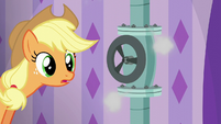Applejack about to have an epiphany S6E10