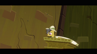 Daring Do left alone S2E16