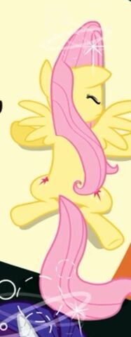 File:Fluttershy with Twilight's cutie mark.jpg