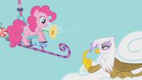 Gilda telling Pinkie S01E05