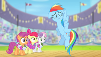 "Rainbow Dash ""contain your excitement"" S4E05"