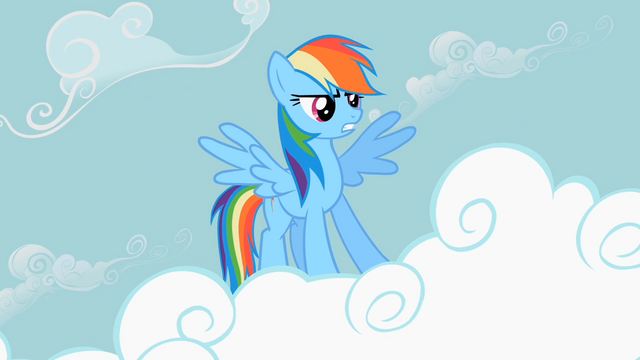 File:Rainbow Dash powerful pose S2E8.png