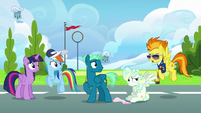 "Spitfire ""Wonderbolts don't get winded"" S6E24"