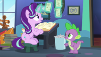 Starlight Glimmer looking at her papers S6E21