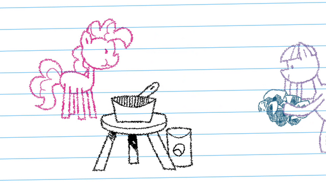 File:Drawing of Maud bringing some rocks S4E18.png
