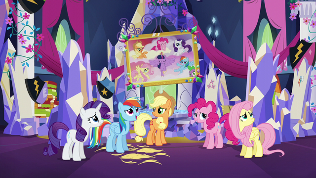 File:Mane Six unsure of their job S5E3.png