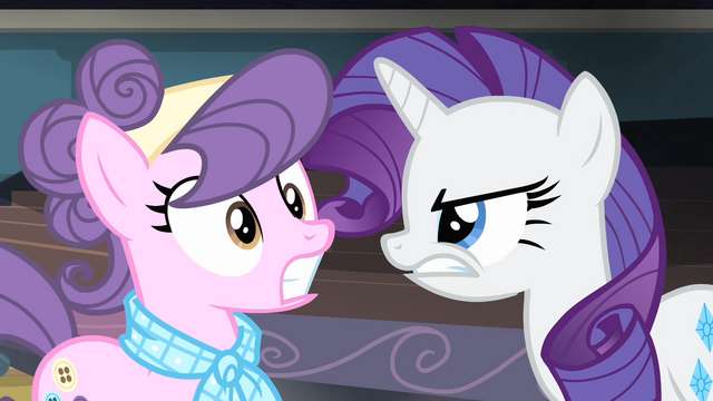 File:Rarity looking angrily at Suri S4E08.png